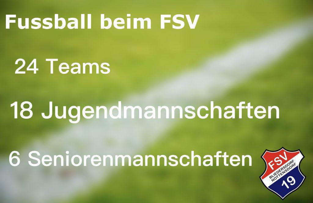 Fussball beim FSV